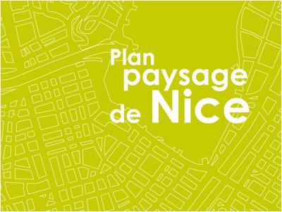 Plan paysage de Nice
