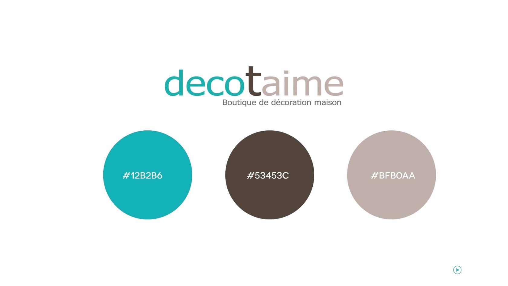 Decotaime agathe houdayer portfolio infographiste for Taupe et bleu canard